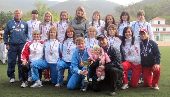 Женская команда Мордовии