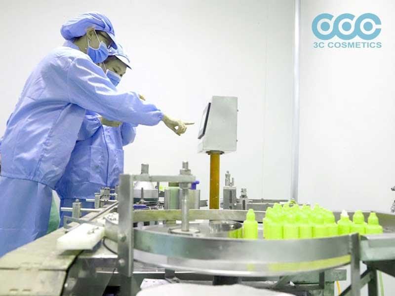 Nhà máy sản xuất mỹ phẩm tại 3C
