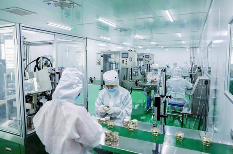 Xưởng sản xuất mỹ phẩm