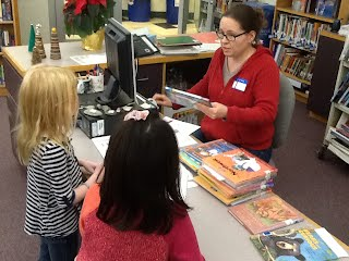 We are thankful for our library volunteers!