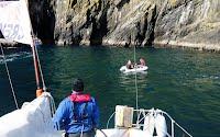 Hsppy Crew Sailing Trip Ireland - Landing at Skellig