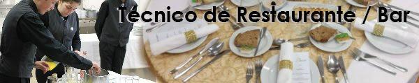Técnico de Restaurante / Bar