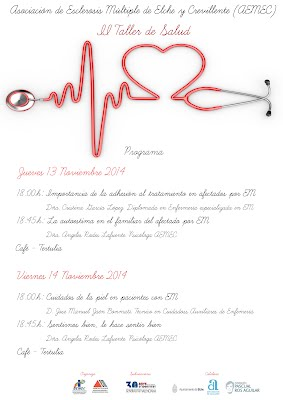 Cartel II taller salud aemec