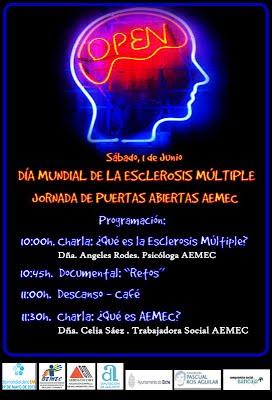 CARTEL DIA MUNDIAL ESCLEROSIS MULTIPLE 2013