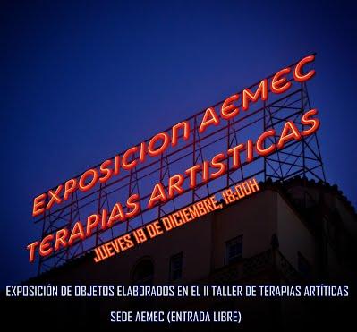 EXPOSICION SEGUNDO TALLER TERAPIAS ARTISTICAS.