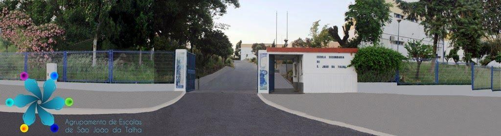 Entrada da Escola Sede do Agrupamento de Escolas de S. João da Talha