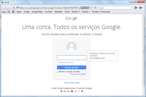 http://mail.aesjt.pt
