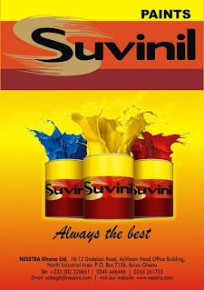 Suvinil Paints - Ghana Business Telephone Directory - Companies in Ghana