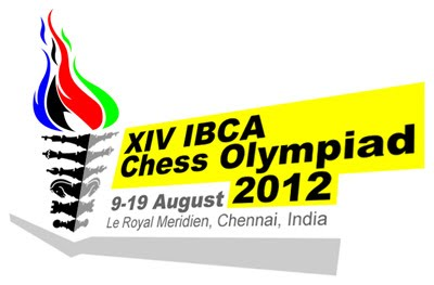 14th IBCA Chess Olympiad 2012 - Logo