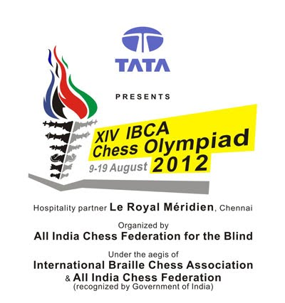 14th IBCA Chess Olympiad 2012