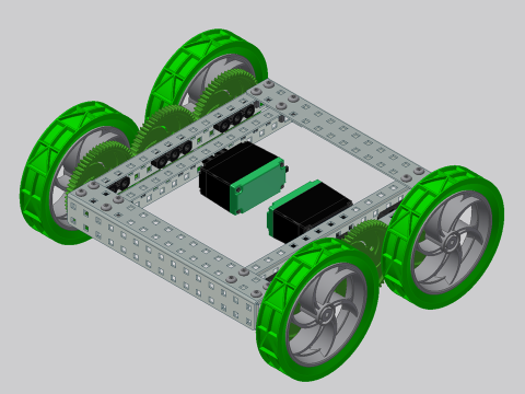 X-drive vex robot design youtube.