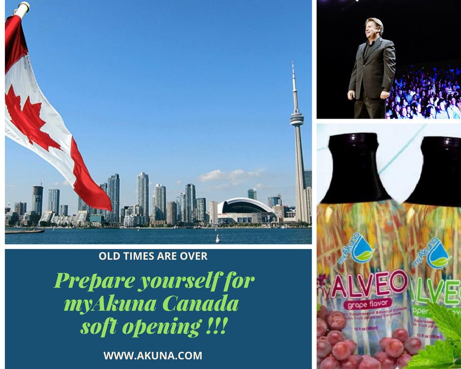 Canada myAkuna soft opening