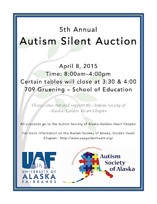 Flyer for silent auction