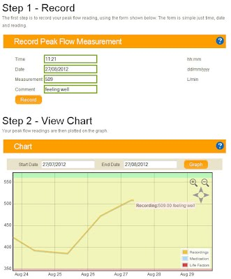 Asthma Treatment And Control Spirometry Peak Flow Calculators