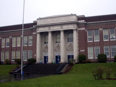 benson high school building