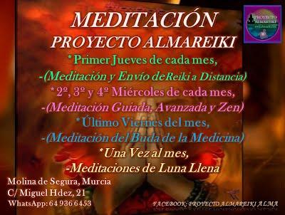 MEDITACIÓN EN MOLINA DE SEGURA Y MURCIA