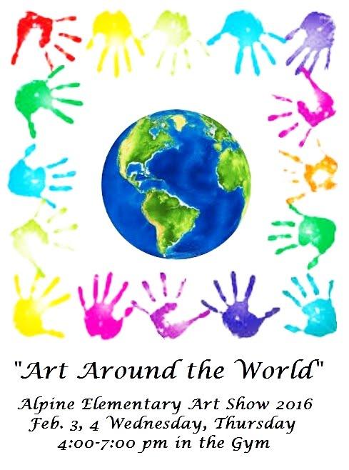 Art show 2016 art around the world alpine elementary for Art from around the world
