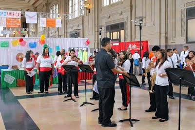 Youth Mariachi Azteca of Alta Vista Performance at Expo Union Station September 15