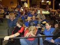 Pep Band at State VB