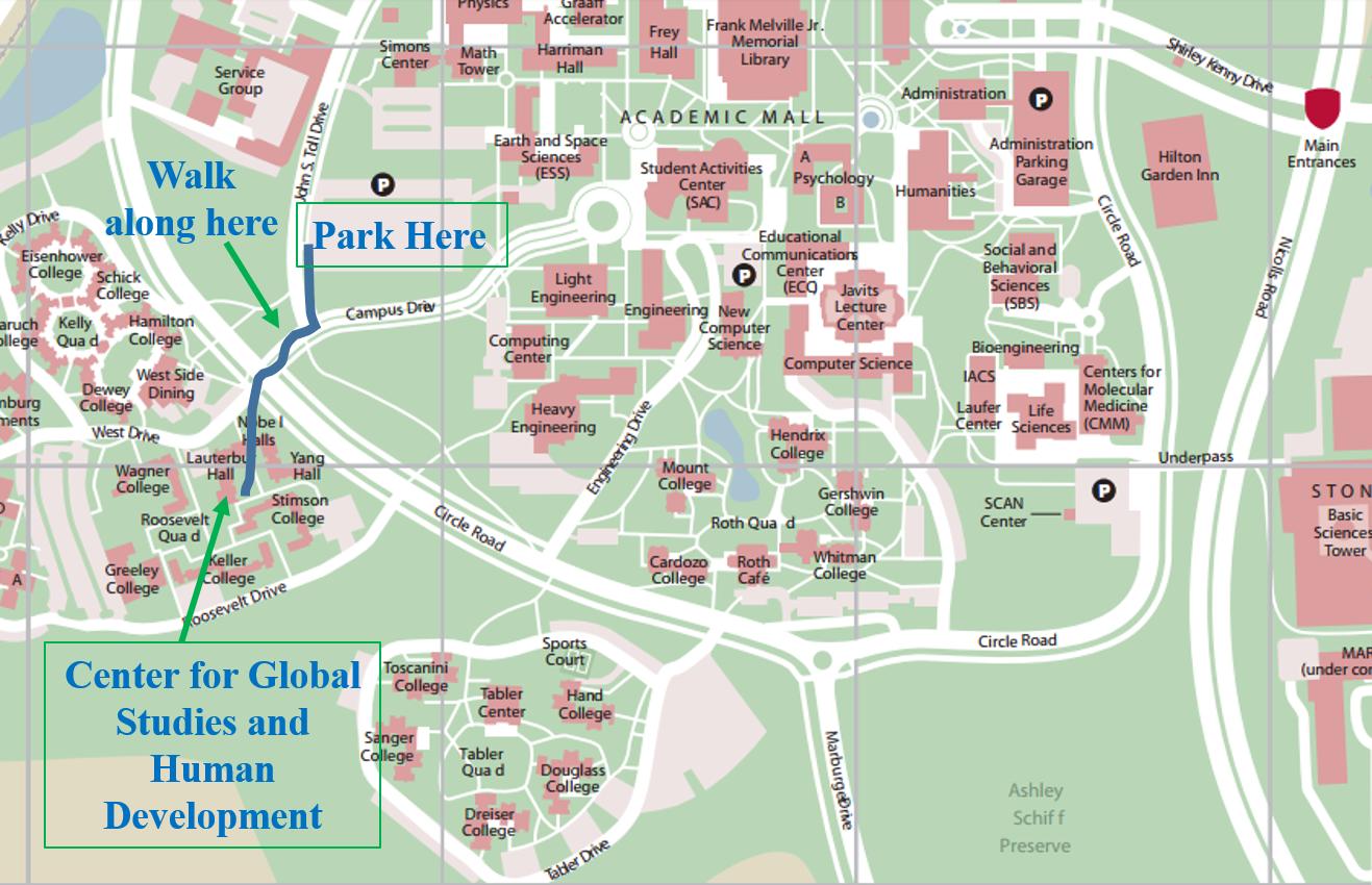 Sac Campus Map Laminatoff