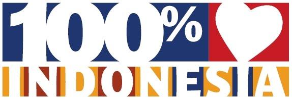 100 persen produk Indonesia
