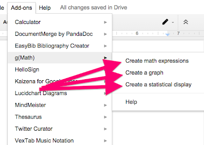 gMath Add-on For Google Docs/Sheets - AHS Technology Integration