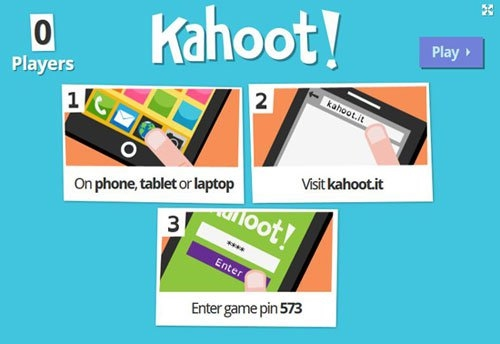 Kahoot - Online Assessment Tools for the Classroom