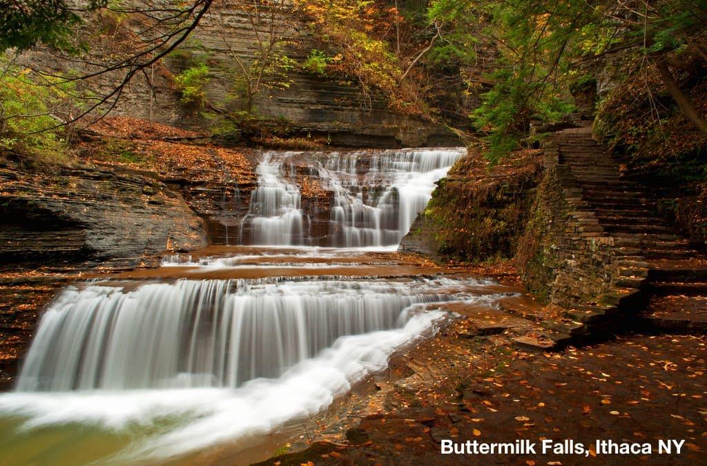 Buttermilk Falls State Park, Ithaca