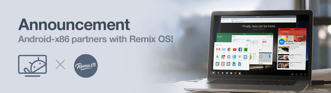 Partnership with Remix OS
