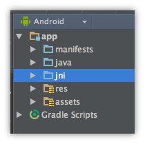 Android NDK Preview - Android Studio Project Site