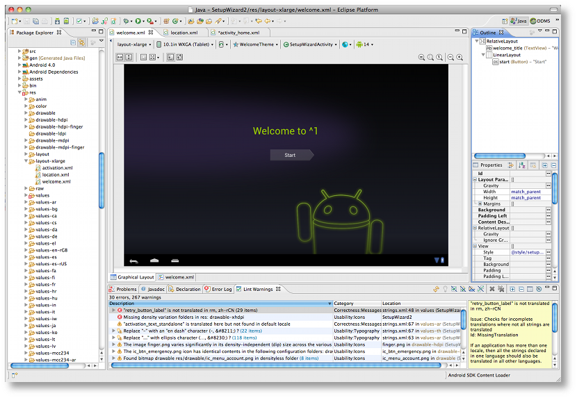 Improved Layout Editor Windowing - Android Studio Project Site