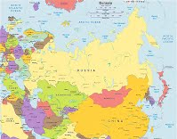 Russia And Eurasian Republics Global Studies - Where is russia located