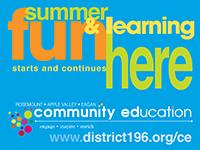 Community Education Summer Fun