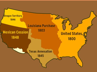 What Territory Did The U S Annex From Mexico