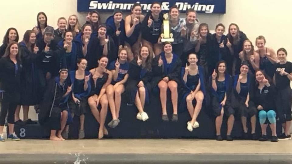 Falcon Swim and Dive - Conference Champs!