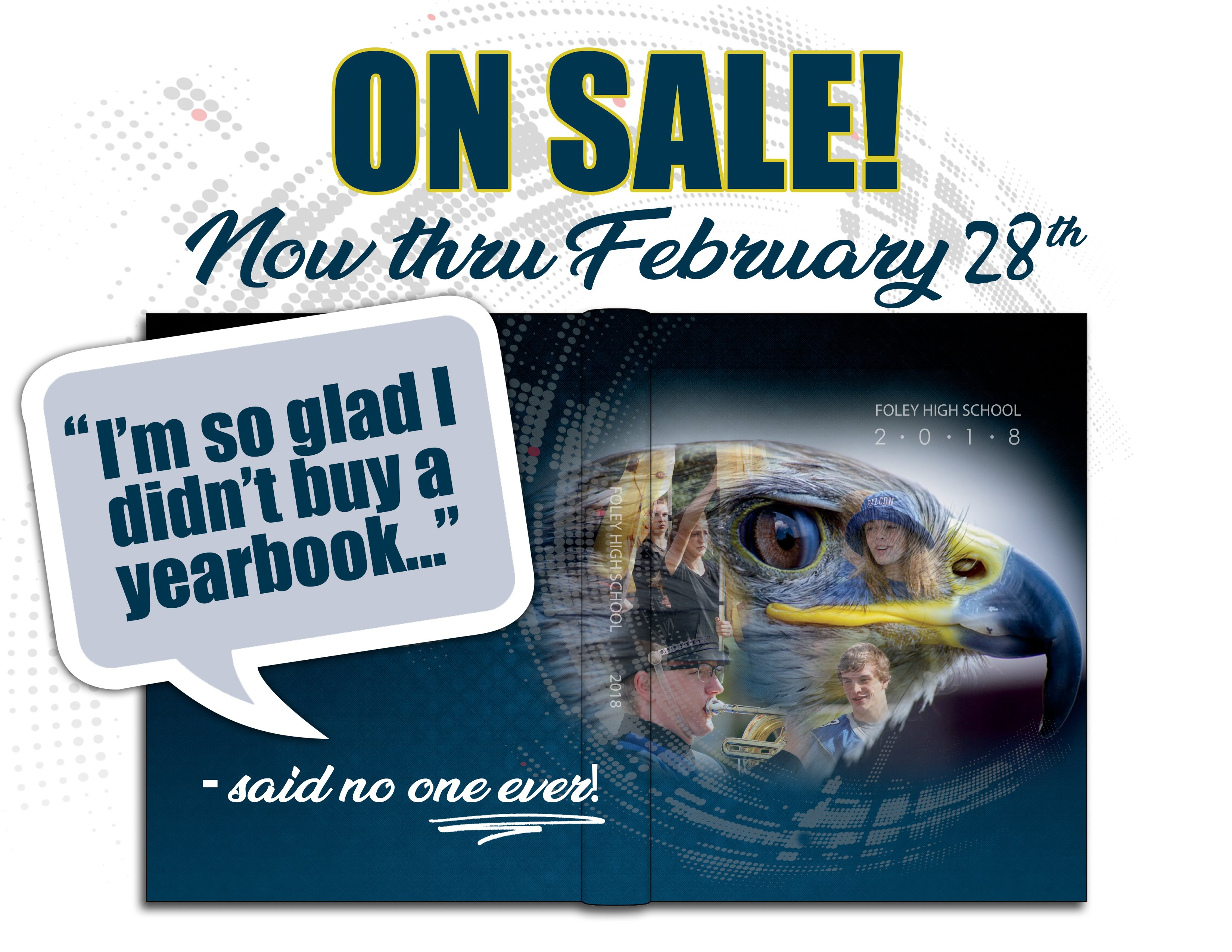 2017-18 Foley High School Yearbooks on Sale