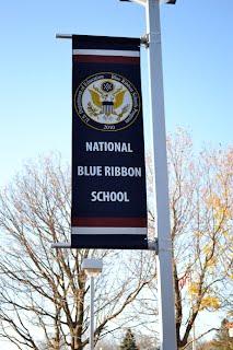 PCS Blue Ribbon Flag 2010