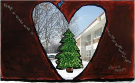 Picture of Tree on PCS Courtyard window
