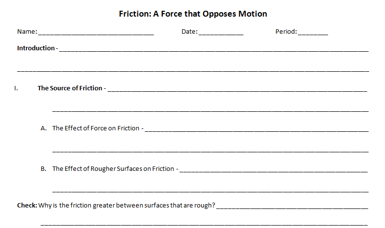 studying force of friction For all the materials tested, silicone has the highest coefficient of friction (061   the measurement of skin friction may be useful in studying the progress of.