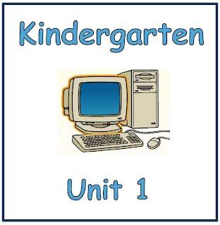 Kindergarten Technology Units 1-6 - Wylie ISD Elementary Schools