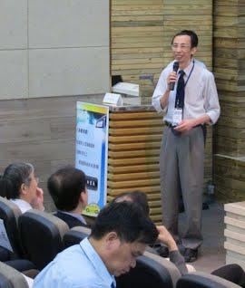 洪鈞澤秘書長生動活潑的演講