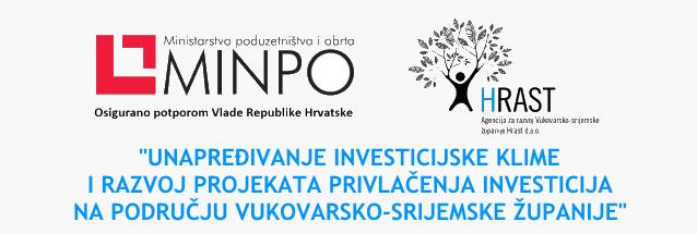"""""""Unapređivanje investicijske klime i razvoj projekata privlačenja investicija na području Vukovarsko-srijemske županije"""""""