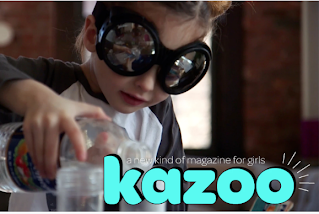 KAZOO MAGAZINE: a new kind of magazine for girls