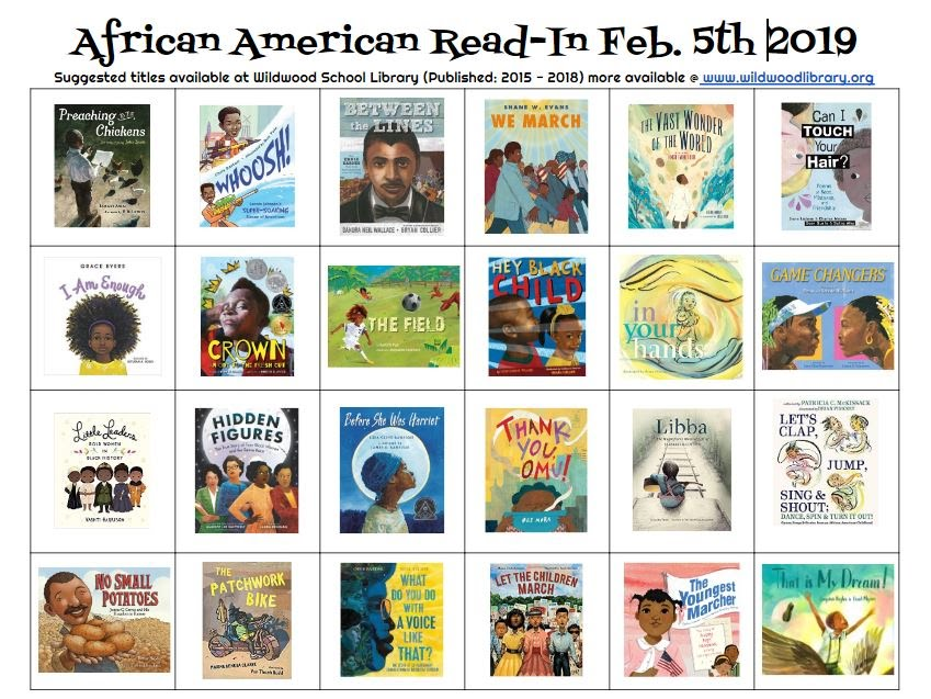 Black History Month Book List Wildwood Library