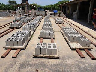 producción de block en B'eljuj Q'anil
