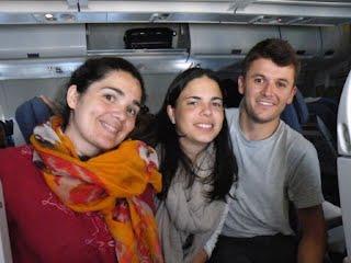tres seteros rumbo a Guatemala