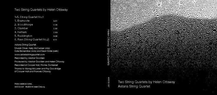 Two Quartets by Helen Ottaway - CD cover