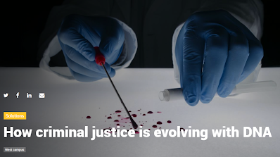 How criminal justice is evolving with DNA