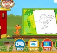 pbs kids dinosaur train