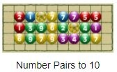 Addition number pairs to 10